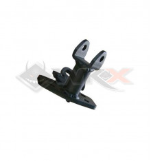 Piece Support repose pied YCF gauche NOIR de Pit Bike et Dirt Bike