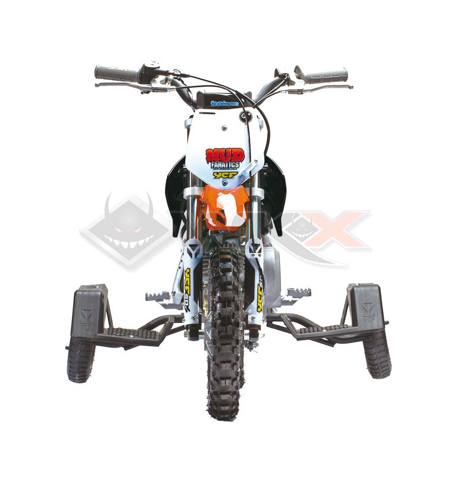 kit petite roue ycf pour moto cross enfant 50cc. Black Bedroom Furniture Sets. Home Design Ideas