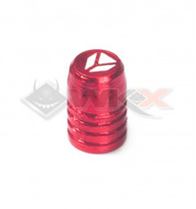 Piece Bouchon de valve YCF ROUGE de Pit Bike et Dirt Bike