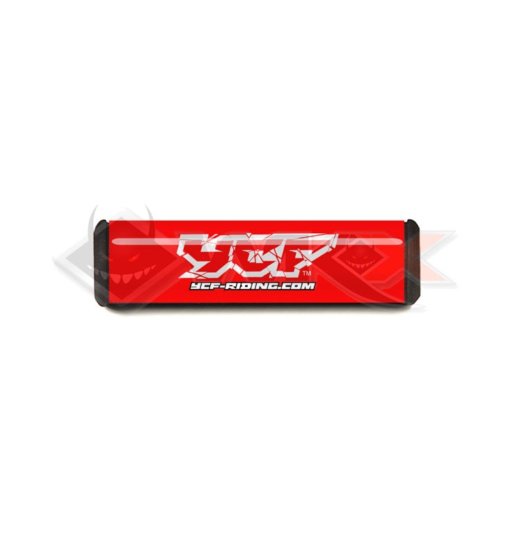 Mousse guidon YCF ROUGE