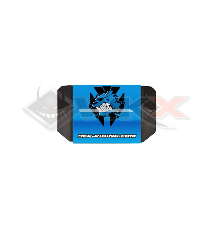 Mousse guidon YCF 50 sans barre BLEU