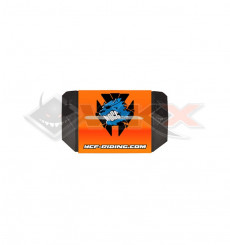 Piece Mousse guidon YCF 50 sans barre ORANGE de Pit Bike et Dirt Bike