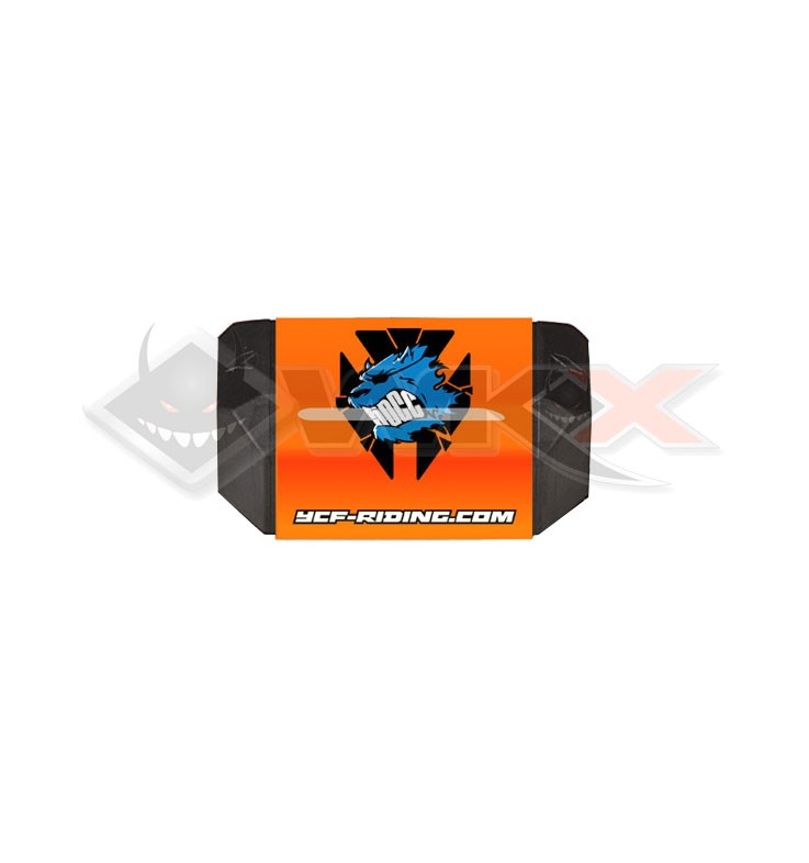Mousse guidon YCF 50 sans barre ORANGE