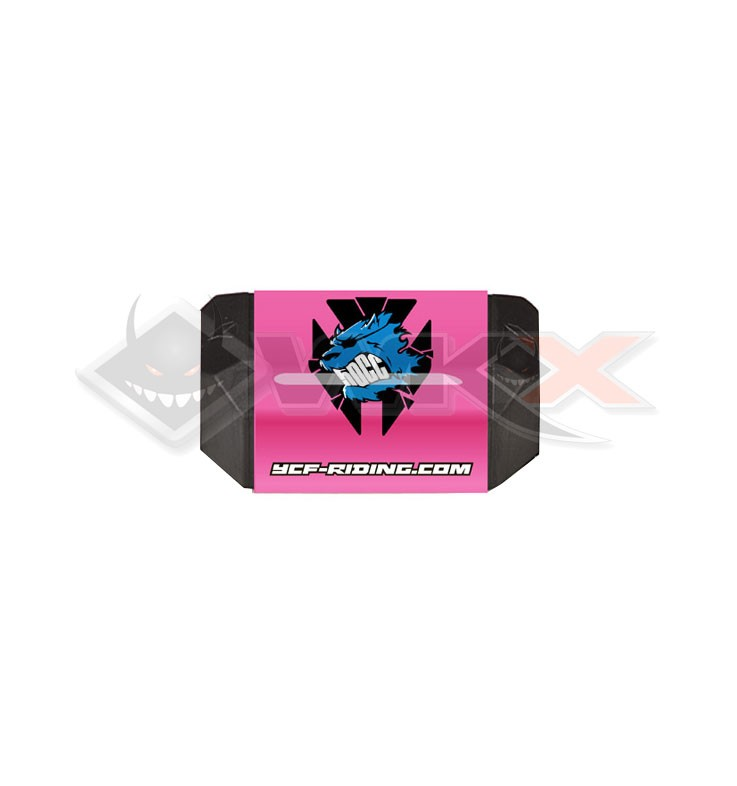 Mousse guidon YCF 50 sans barre ROSE