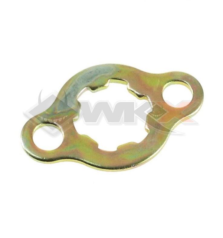 Plaque fixation pignon YCF axe 17mm