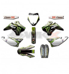 Piece Kit décoration D'COR YCF MONSTER CAMO de Pit Bike et Dirt Bike