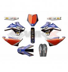 Piece Kit décoration D'COR YCF STAR RACING de Pit Bike et Dirt Bike