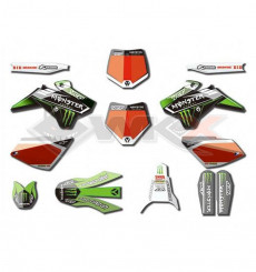 Piece Kit décoration YCF MONSTER START / PILOT / FACTORY de Pit Bike et Dirt Bike