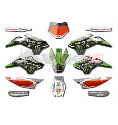 Piece Kit décoration YCF MONSTER PILOT / FACTORY de Pit Bike et Dirt Bike