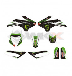 Piece Kit décoration YCF 50A NSTYLE MONSTER de Pit Bike et Dirt Bike