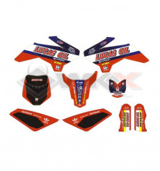 Piece Kit décoration YCF 50A NSTYLE TLD de Pit Bike et Dirt Bike