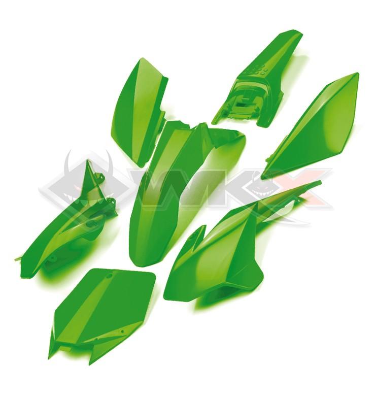 Kit plastique YCF VERT