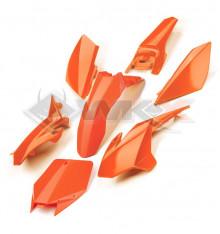 Piece Kit plastique YCF ORANGE de Pit Bike et Dirt Bike