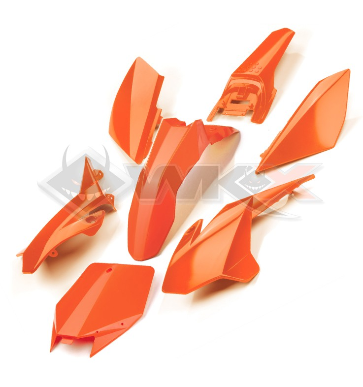Kit plastique YCF ORANGE