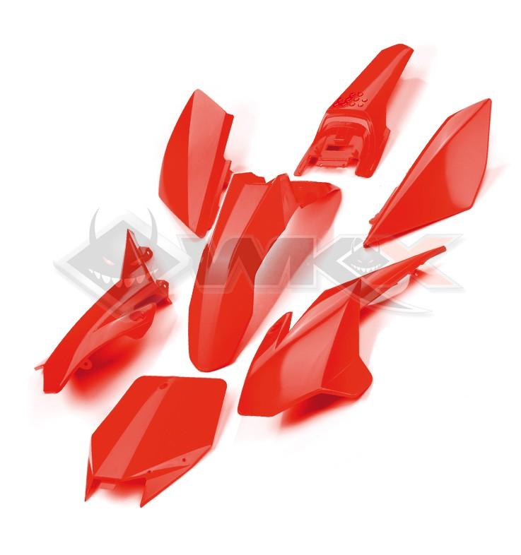 Kit plastique YCF ROUGE