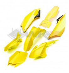 Piece Kit plastique YCF EVO JAUNE de Pit Bike et Dirt Bike
