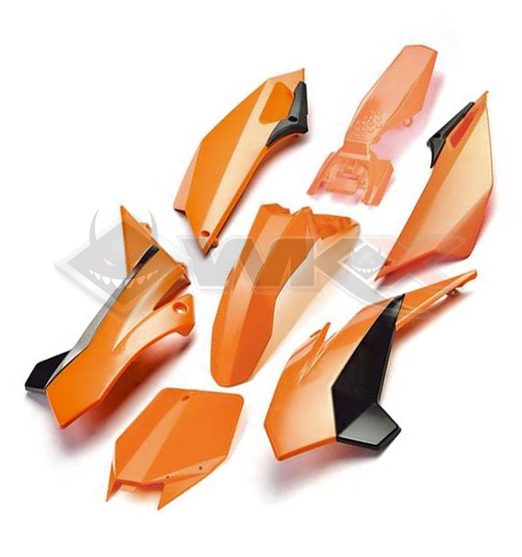 Kit plastique YCF FACTORY ORANGE