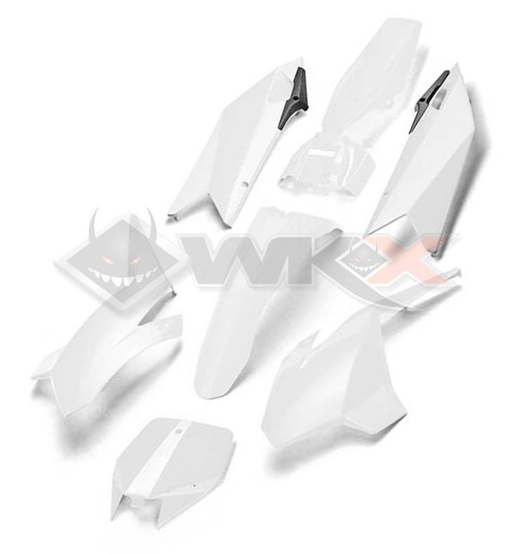 Kit plastique YCF BIGY BLANC