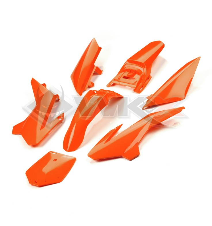 Kit plastique YCF 50 ORANGE