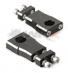 Piece Pontets haut ajustables YCF guidon 22.2mm de Pit Bike et Dirt Bike
