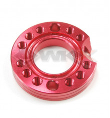 Piece Adaptateur multiposition ROUGE de Pit Bike et Dirt Bike