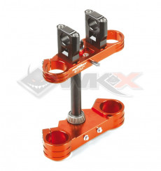 Piece Te fourche 48/48 YCF ORANGE de Pit Bike et Dirt Bike