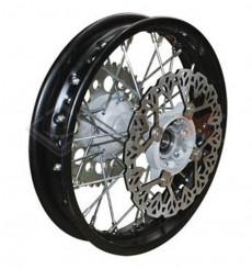 Piece Jante arrière acier YCF 12' axe 15mm de Pit Bike et Dirt Bike