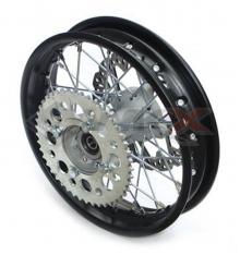 Piece Jante arrière acier YCF supermotard 12' de Pit Bike et Dirt Bike