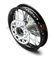 Piece Jante arrière acier renforcé YCF 12' axe 15mm de Pit Bike et Dirt Bike