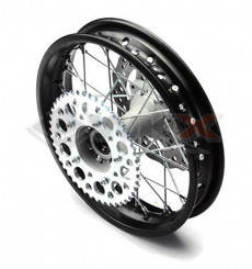 Piece Jante arrière acier renforcé YCF 12' de Pit Bike et Dirt Bike