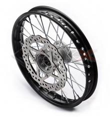 Piece Jante avant acier renforcé YCF 14' axe 15mm de Pit Bike et Dirt Bike