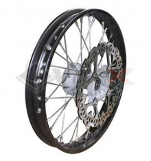 Piece Jante avant acier YCF 14' axe 15mm de Pit Bike et Dirt Bike