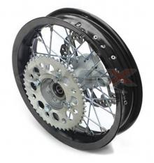 Piece Jante arrière aluminium YCF supermotard 12' de Pit Bike et Dirt Bike