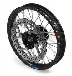 Piece Jante avant aluminium YCF 12' NOIR de Pit Bike et Dirt Bike