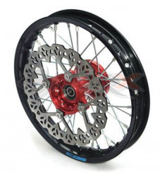 Piece Jante avant aluminium YCF 12' ROUGE de Pit Bike et Dirt Bike