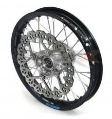 Piece Jante avant aluminium YCF 12' GRIS de Pit Bike et Dirt Bike