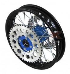 Piece Jante arrière acier YCF 50 BLEU de Pit Bike et Dirt Bike