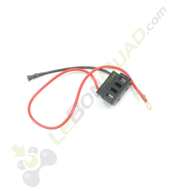 Prise connexion boite à batterie de pocket cross électrique