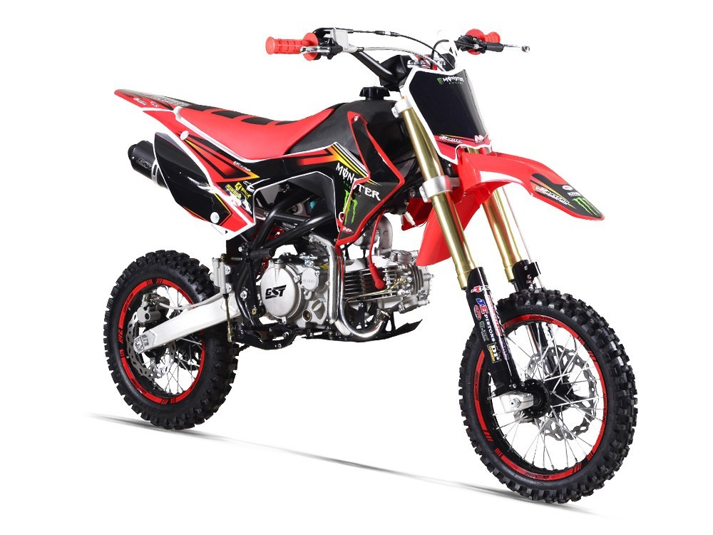 Pit Bike GUNSHOT 150 PRO-F - MONSTER ENERGY - ROUGE - édition 2018
