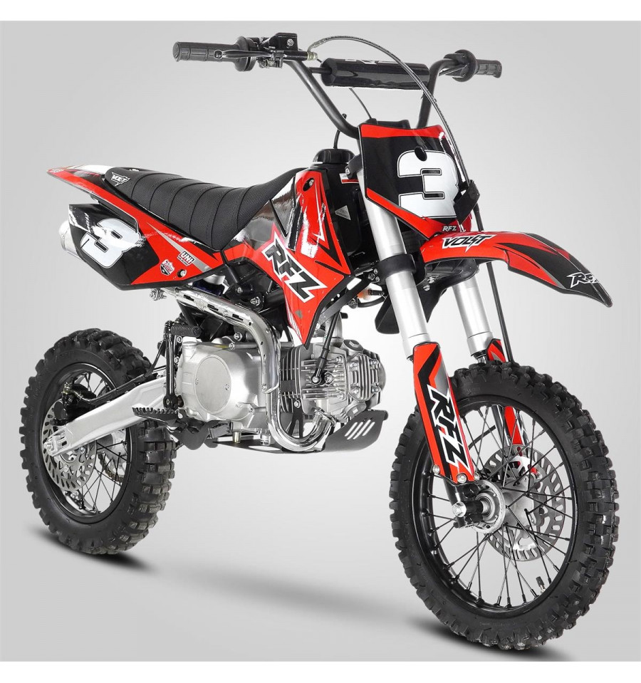 pit bike apollo rfz junior 110 pas cher dirt bike 110cc. Black Bedroom Furniture Sets. Home Design Ideas
