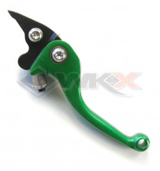 Piece Levier de frein CNC retournable VERT de Pit Bike et Dirt Bike