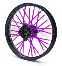 Piece Couvre rayon VIOLET de Pit Bike et Dirt Bike