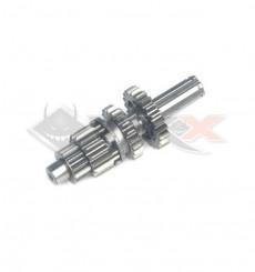 Piece Arbre boite primaire YCF YX 88cc /125cc SE de Pit Bike et Dirt Bike