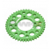 Piece Couronne aluminium YCF axe 75mm 41 dents 420 VERT de Pit Bike et Dirt Bike