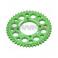 Piece Couronne aluminium YCF axe 75mm 45 dents 420 VERT de Pit Bike et Dirt Bike