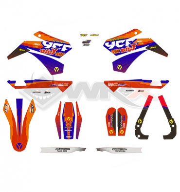 Piece Kit décoration YCF FACTORY BIGY 150 MX 2018 de Pit Bike et Dirt Bike