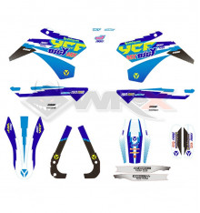 Piece Kit décoration YCF FACTORY BIGY 190 MX ZE 2018 de Pit Bike et Dirt Bike
