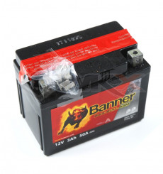 Piece Batterie BANNER YTX4L-BS de Pit Bike et Dirt Bike