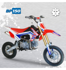 Piece Pit Bike BASTOS BP 150 - édition 2019 de Pit Bike et Dirt Bike