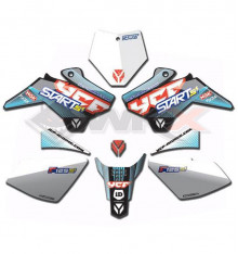 Piece Kit décoration YCF START F125SE 2019 de Pit Bike et Dirt Bike